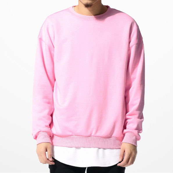 Sweatshirt Pink - Trendy Clothes