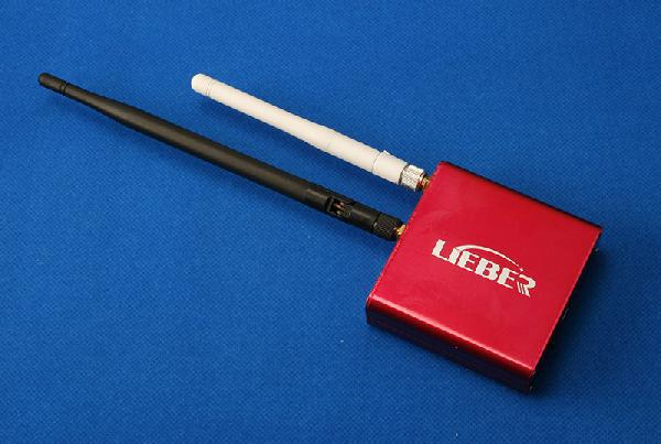 LIEBER 5.8G 32Ch FPV AV Receiver with 2.4G WIFI Transmitter 2-in-1 (Wifi box) w/ built-in Lipo Battery(China (Mainland))