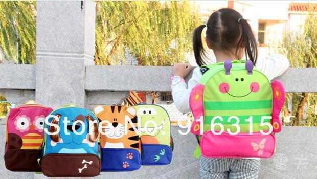 8 designs Cartoon Backpacks Kids School bags Cute Satchel Animal Bags Zoo Backpacks Gift for Children