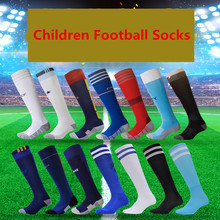 Famous European Clubs and Countries Styles Children Football Socks Boys Soccer Sock Child Sports Long Thicken Kids' Sock for Boy(China (Mainland))