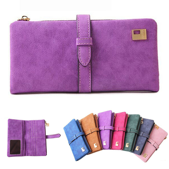 New Fashion zipper women wallet,Frosted PU women leather wallets,High quality women purses designer carteira feminina