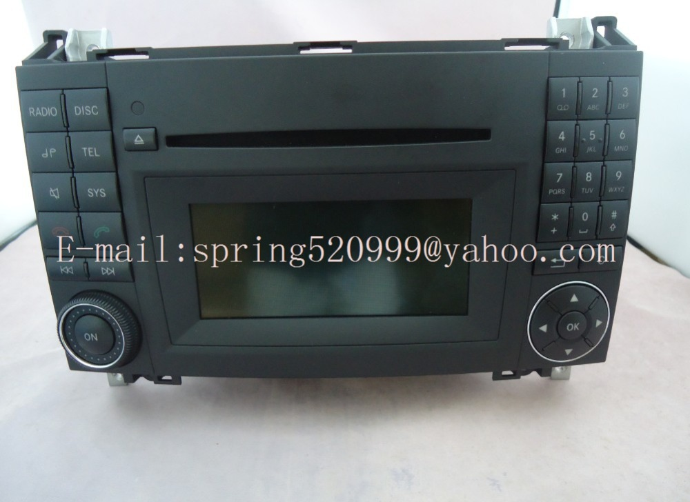 original new alpine single cd radio n25 mf2830 for mercedes vito b class audio 20 cd a169 900 20. Black Bedroom Furniture Sets. Home Design Ideas