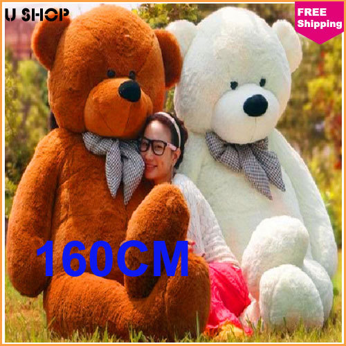 160cm life size doll plush large teddy bear for sale giant big soft toys teddy bears valentines. Black Bedroom Furniture Sets. Home Design Ideas