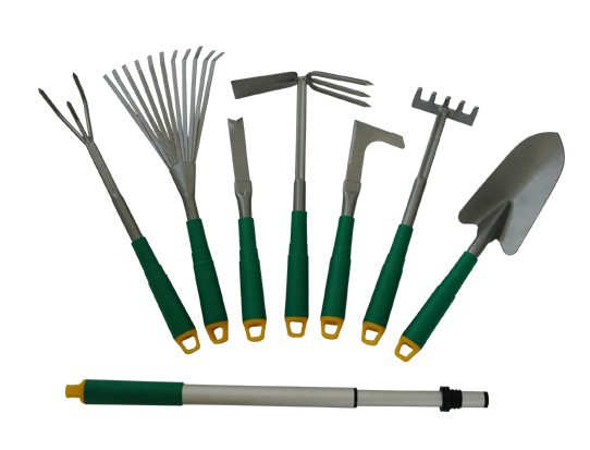 8pcs garden tool set with plastic handle in tools from for Gardening tools toronto