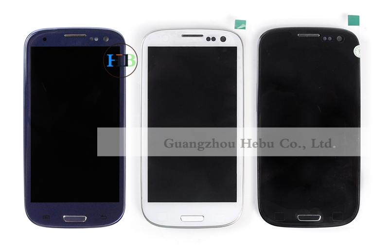 Brand New I9300 Lcd I9301 LCD Free Shipping For Samsung S3 Lcd Screen+Touch Screen Digitizer+Bezel Frame For Galaxy I9305 Lcd(China (Mainland))