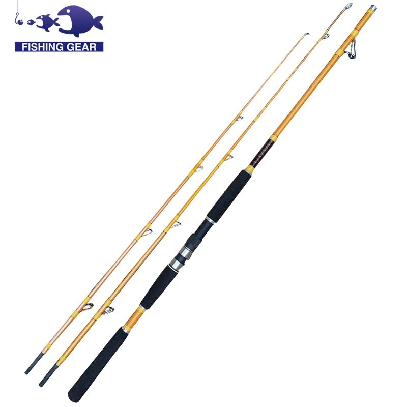 2 Tips Boat Fishing Rod Spinning Casting Rod Carp Sea Fishing Pole Stick Surf Casting Fishing Rods China Outdoor Sport(China (Mainland))