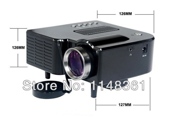 New gm40 hdmi mini micro av led digital video game for Micro hdmi projector