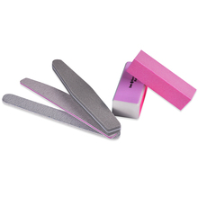 Professional Art Nail File Buffers Durable Buffing Grit Sand Block For Manicure Artificial Nails Biutee(China (Mainland))