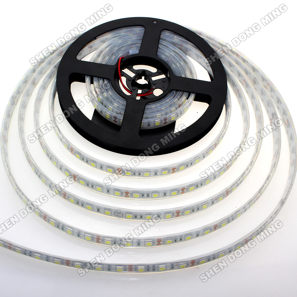 LED Strip 5050 waterproof SMD IP68 300leds/5M 5M/roll led strip light Cold White/RGB High Quality CE RoHS 2year Warranty(China (Mainland))