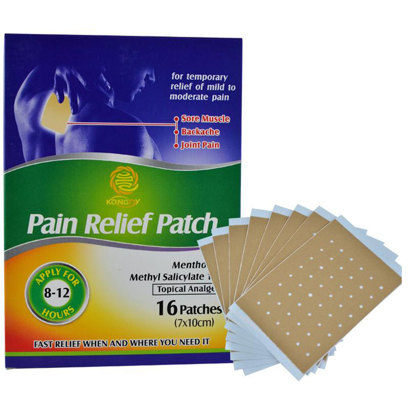 16 Pieces/Box Arthritis Back Pain Relief Patch Chinese Traditional Herbal Medicines Health Care Product for Body Massag(China (Mainland))