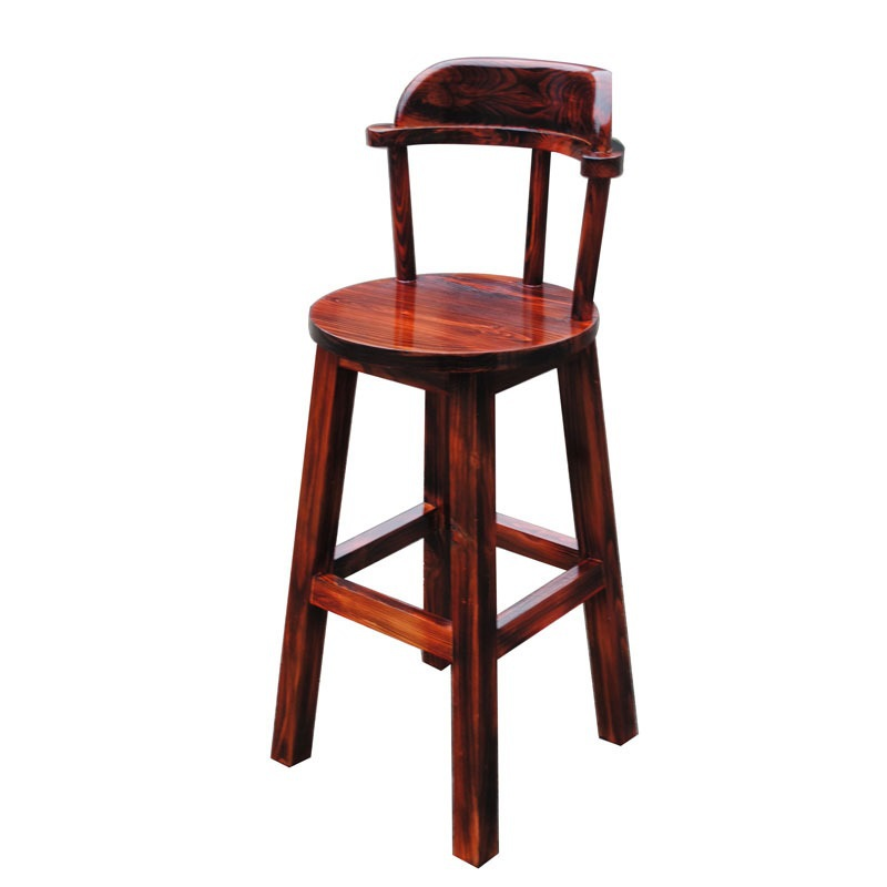 ECDAILY  Xi Rui near carbonized wood bar stool bar chair bar stool bar stool high chairs high stool Specials  FREE SHIPPING<br><br>Aliexpress