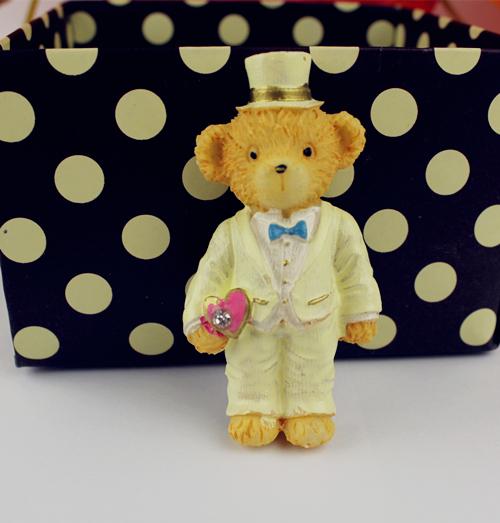 Graduation teddy bears bear memo pad home Resin toy model(China (Mainland))
