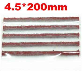 30pcs Tubeless Tire Repair Seal String Rubber Filler Strips 4.5mm*200mm