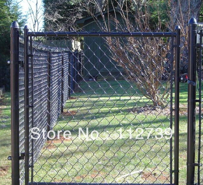 Galvanized chain link fence lowest fences