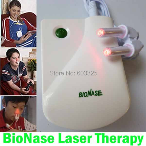 Health Care BioNase Rhinitis Sinusitis Nose Therapy Massage Device Cure Hay fever,Low Frequency Pulse Laser Therapentic Masseur(China (Mainland))