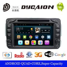 Mercedes Benz W209 Android 5.0.1 Car DVD GPS Player Dash Deck Autoradio FM/AM 3G Bluetooth - ShenZhen Dycaion Electronic Co., Ltd store
