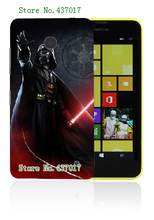 star wars fashion style 5designs hybrid retail hot selling white hard cases for nokia lumia 630 free shipping