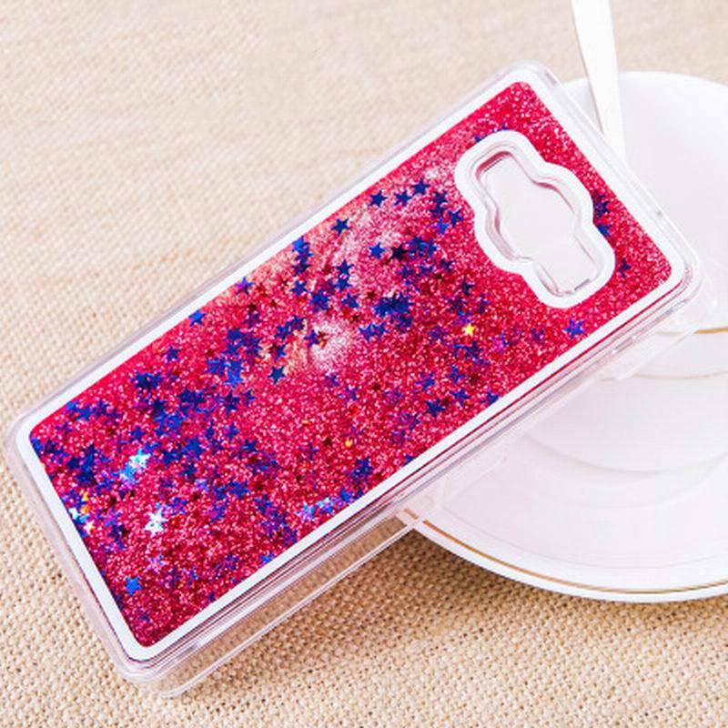 For Samsung Galaxy J5 J7 J3 J1 2016 Glitter Stars Dynamic Liquid Quicksand Hard Case Cover For Samsung Galaxy