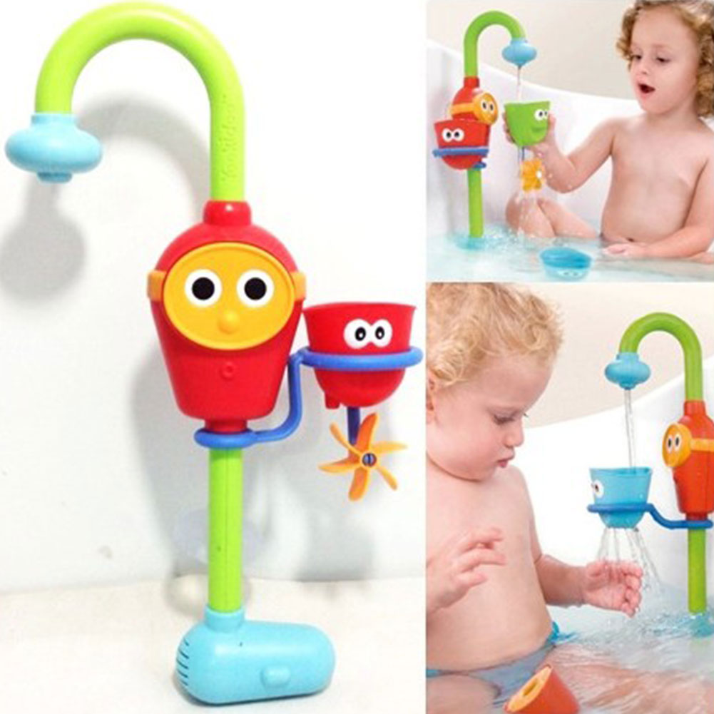 2018 Wholesale Fun Baby Bath Toys Automatic Spout Play Taps ...
