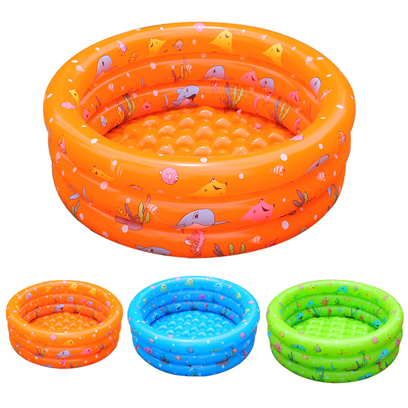Hot Inflatable Swimming Pool Toddler Baby Ocean Wave Ball Pool Piscine Inflatable Mattress Piscina Inflate Swim Ring 3 Colors(China (Mainland))