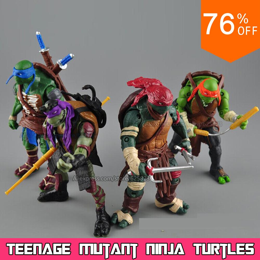 2015 New NECA Toy Teenage Mutant Ninja Turtles hasbroeINGlys Action Figure TMNT Model Toys For Boys Juguetes Gift Brinquedos(China (Mainland))