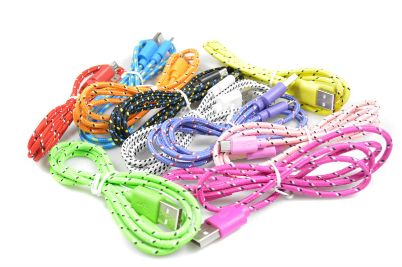 3m braided usb cable