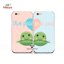 2pcs/Lots Personalized Monogrammed Best Friend Lover Phone Cases For Iphone6 6plus Case Cover Valentine's Gift
