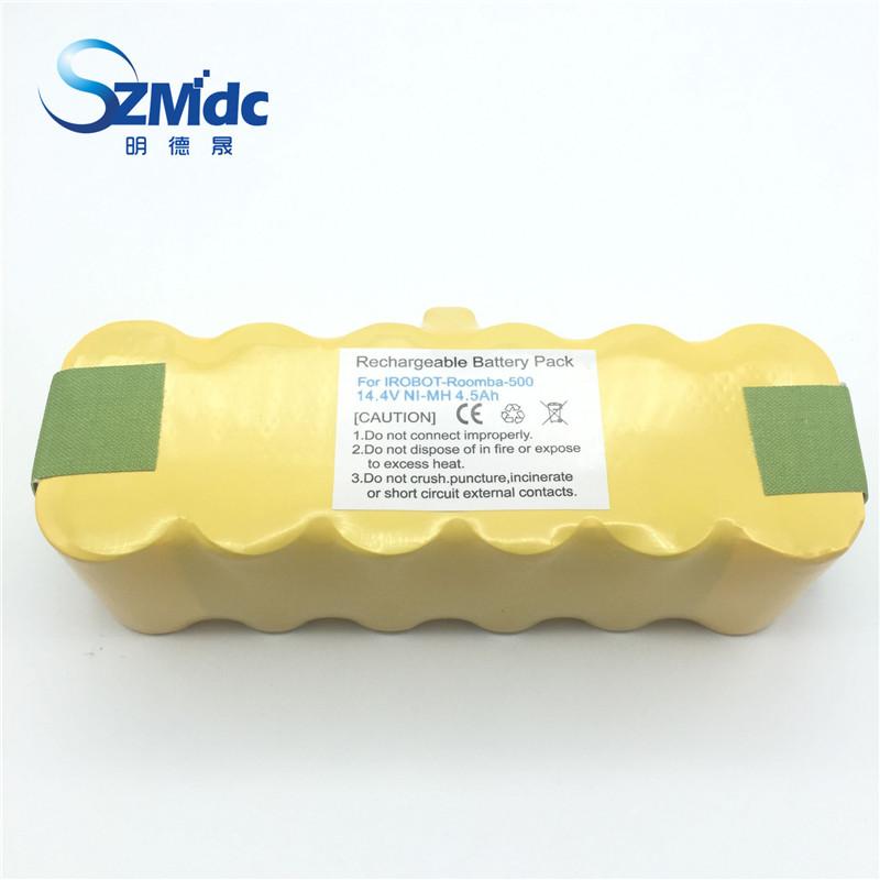 4500 mAh New High quality Battery Pack for iRobot Roomba 560 530 510 562 550 570 500 581 610 780 532 770 760 battery Robotics(China (Mainland))
