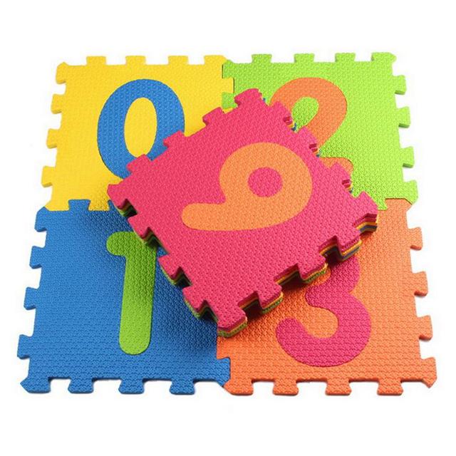 Детская мягкой складывающейся ползет ковры, Детские игры число головоломки / письмо / мультфильм ева, Пола для детских игр 30 * 30 * 1 см
