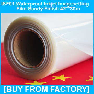 """Inkjet Film Clear for Printers and Plotters 42""""*30M"""