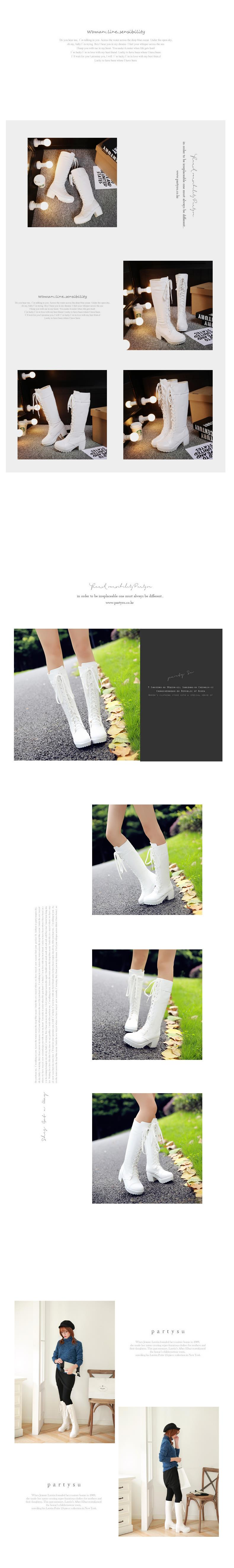 Long Boots Autumn And Winter Cosplay Female Front Lace Up Knee Loncil Aeproduct