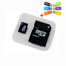 Tf Card  Memory Card 4GB 8GB 16GB 32GB TF/SD Card Real Capacity Micro SD Card  Flash Memory Free Gift adapter + card reader(China (Mainland))
