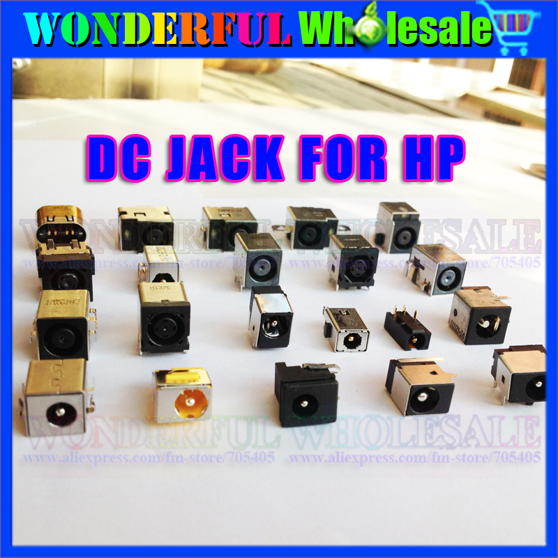 Original New Notebook DC Jack for HP Laptops,20models,20pcs/pack<br><br>Aliexpress