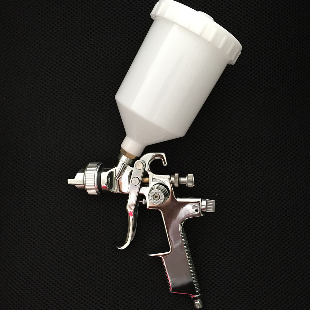 SAT0089 free shipping double action airbrush spray painting gun nozzle hvlp air spray gun<br><br>Aliexpress
