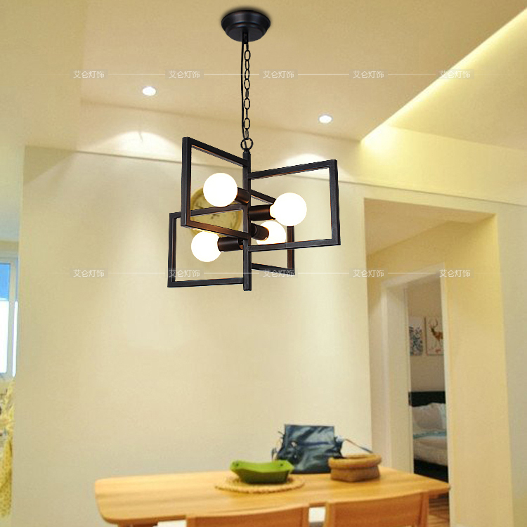 Modern simple creative garden style pendant light korea european taste dining room living room - Modern pendant lighting for dining room ...