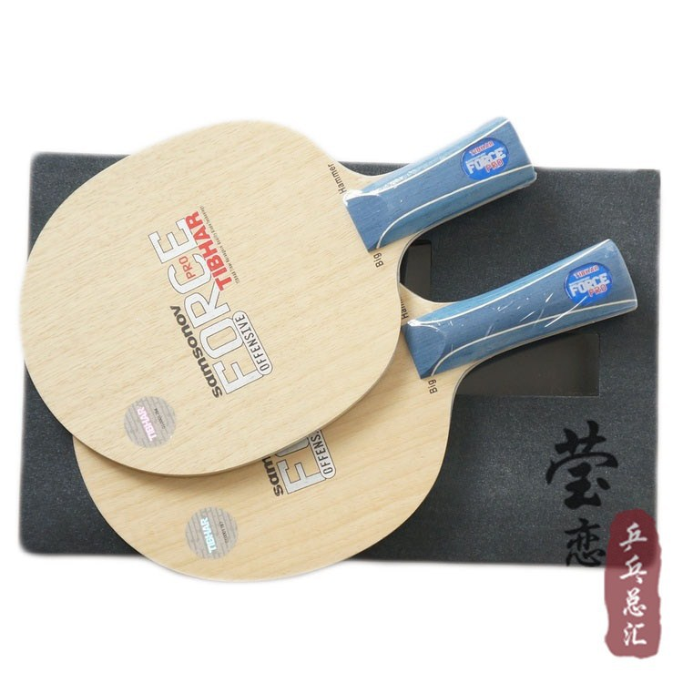 Фотография Original Tibhar SAMSONOV FORCE PRO table tennis blade table tennis rackets racquet sports fast attack with loop pure wood