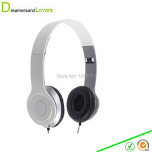 Headsets, Over Ear Headphones Headsets 3.5mm Phone Smartphones PC Computer MP3 MP4 Players for Children Kids Boys Girls Adults(China (Mainland))
