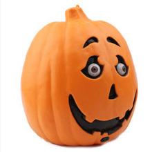 Стиль 1 pces большие тыквы лёгкие голос тыква ведро бар поставки украшение изделия для хэллоуин