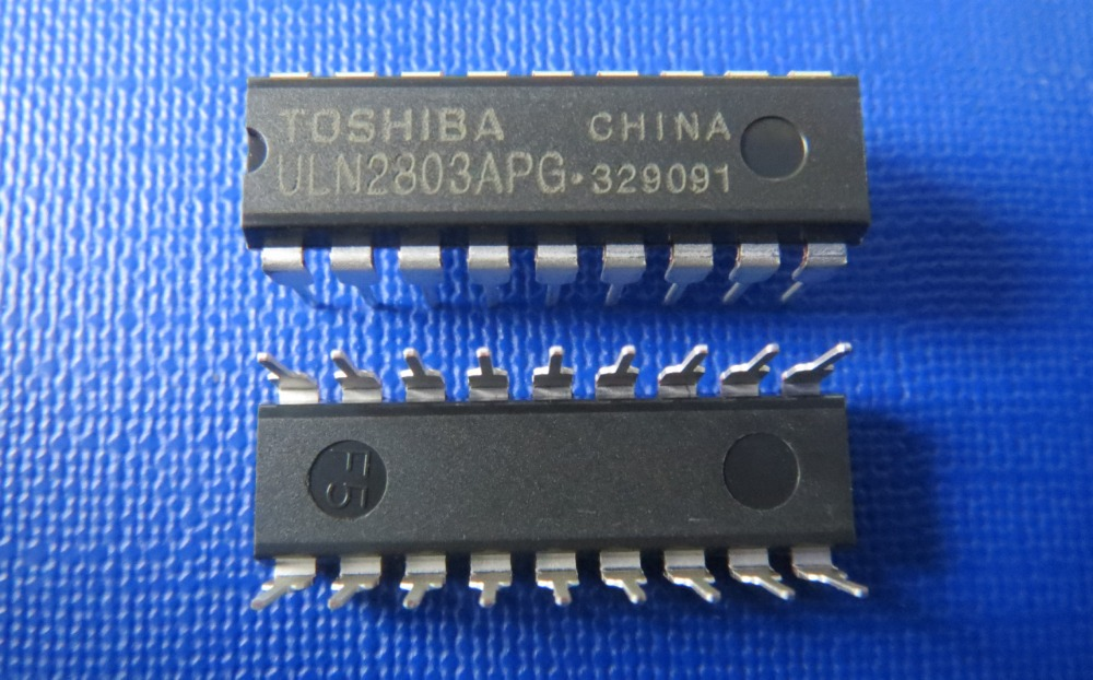 5ULN2803 ULN2803APG DIP-18 ULN2803AP ULN2803A IC TOS - Oweis Electronics (HK store)
