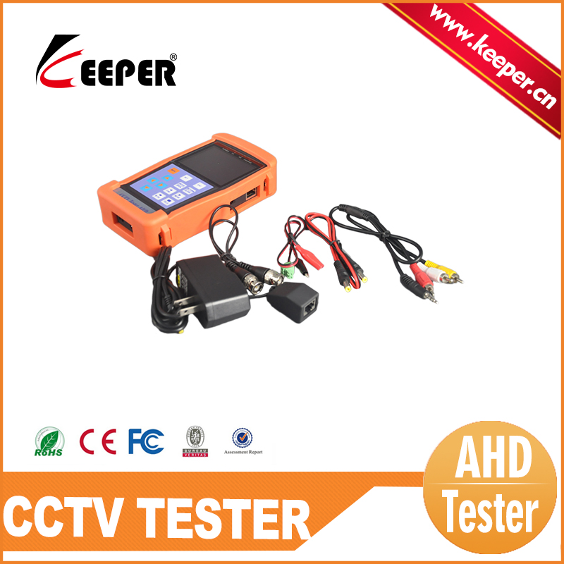 KEEPER CCTV Security Camera Tester 3.5 inch Color LCD Screen PTZ Tester CCTV system Tester Equipment(China (Mainland))