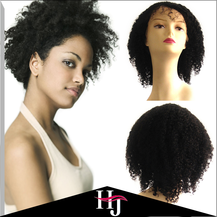 Kinky Curly Baby Hair Lace Front Wig Glueless Full Lace Wigs Brazilian Virgin Hair Curly Lace Wig Human Hair For Black Women F86