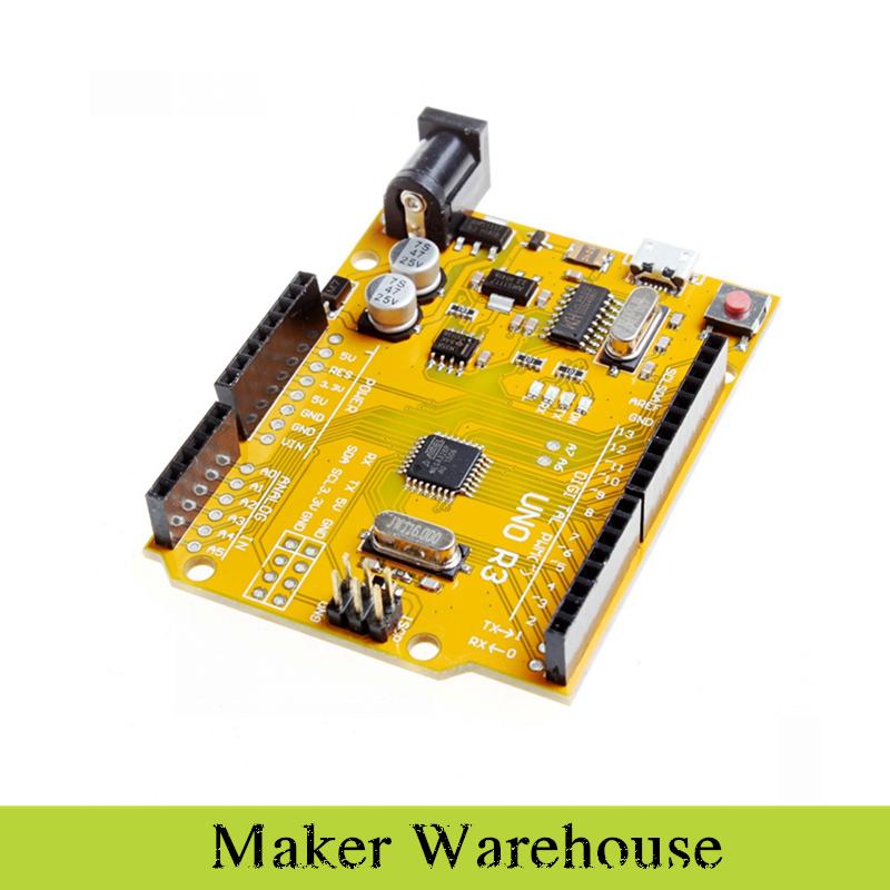 UNO R3 Microcontroller Development Board Enhanced ATmega328P for Arduino(China (Mainland))