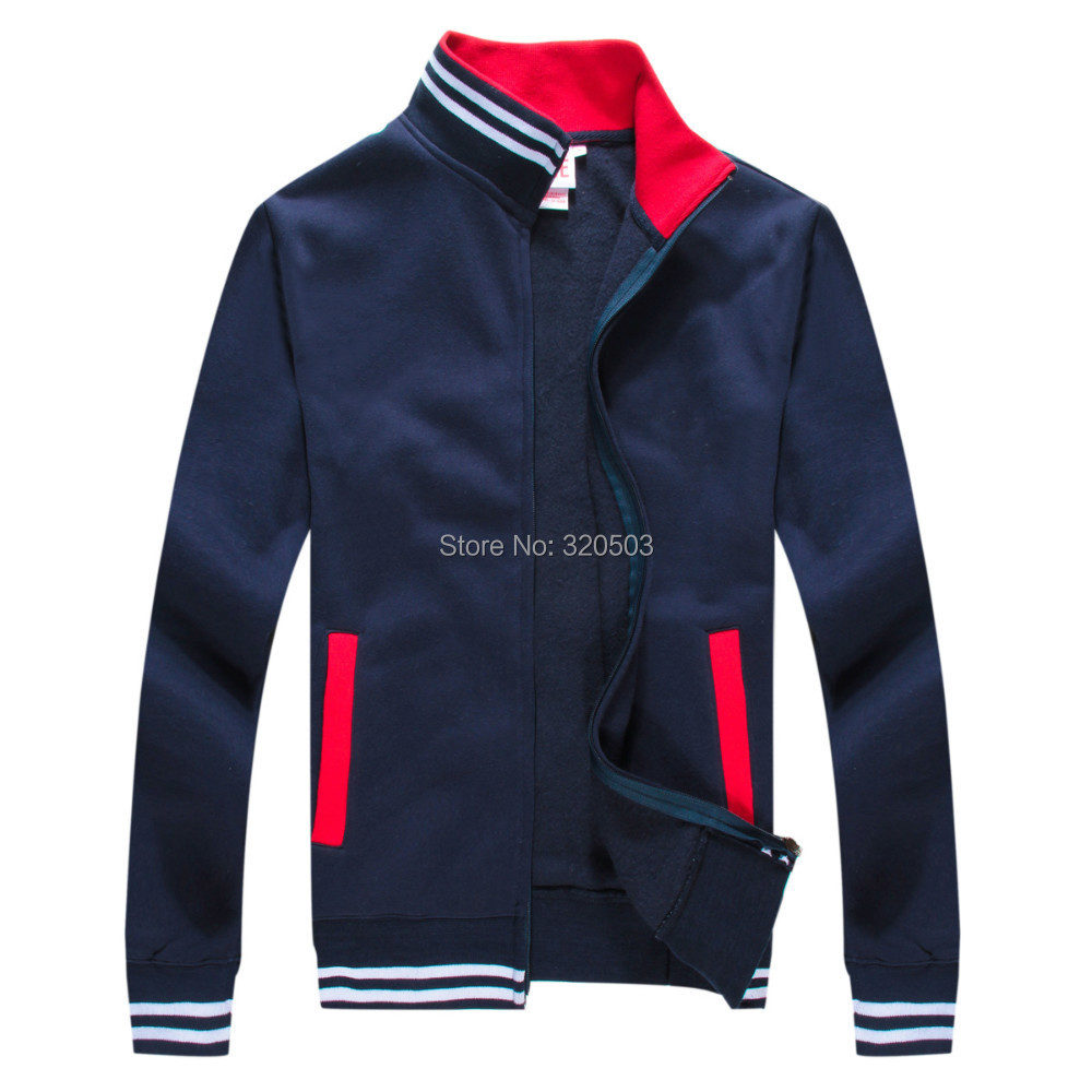 2015 fashion sports suit men hooded jacket cotton leisure tracksuit / Sportswears live hoodies - CN Fashion Shopping store