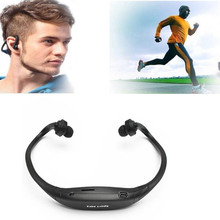 New High Quality Fashion Stereo Sport Headset Headphone Earphone MP3 Music Player Micro For SD TF Slot