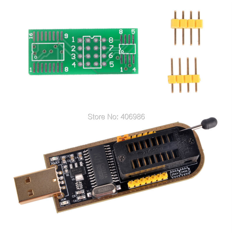 product CH341A USB Programmer ch341a 24 25 usb programmer Series Chip 24 EEPROM BIOS Writer 25 SPI Flash FZ1665