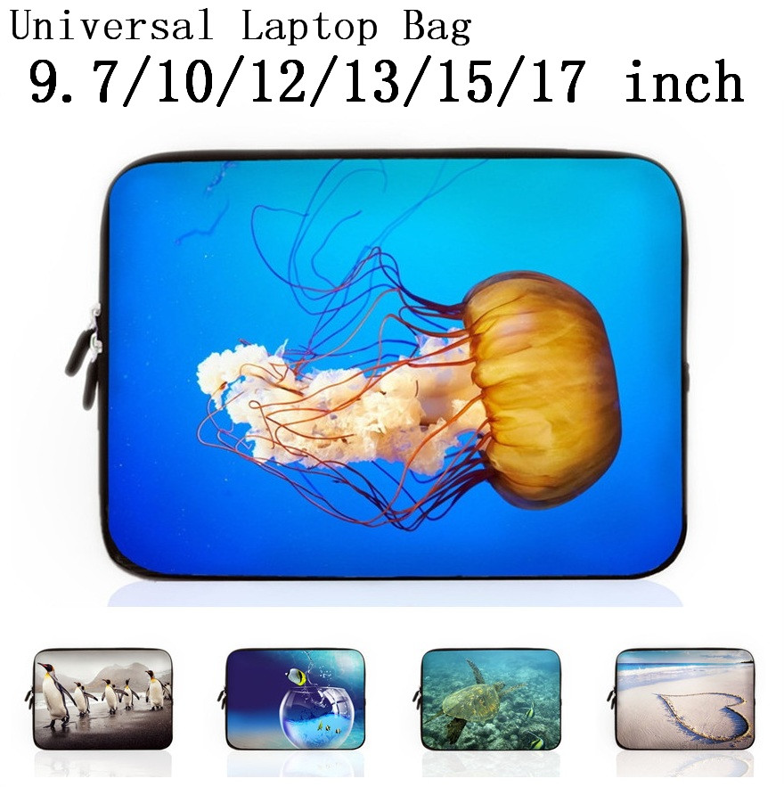 9.7 10 12 13 15 17 Neoprene Laptop Bag Sleeve Pouch Bag For Notebook Computer Bag 13.3 15.4 15.6 17.3 For Macbook Air/Pro Retina(China (Mainland))
