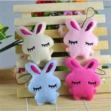 Fashion Kids Baby Plush Toy Cartoon Rabbit Embrace Heart Bowkot Stuffed Toys Gift 2016 New(China (Mainland))