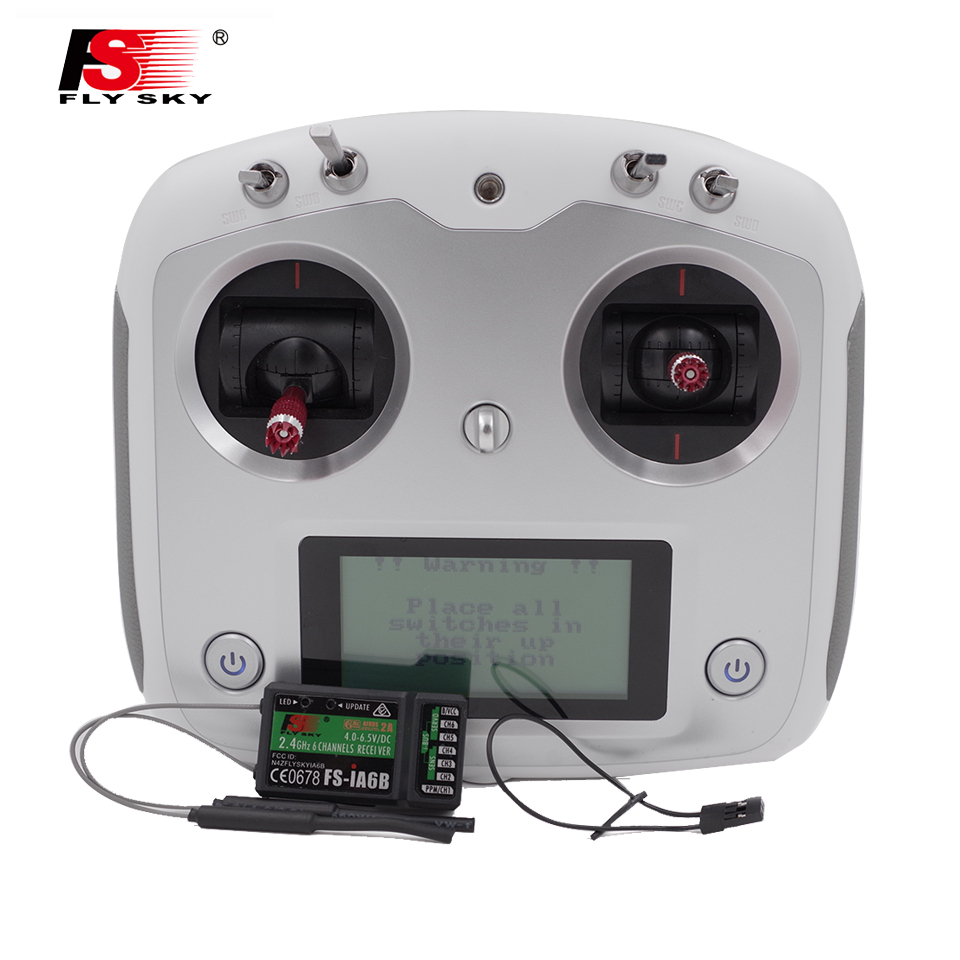 Flysky 2.4G FS-i6s 10ch FS-I6 RC remote controller Transmitter FS-iA6B Receiver TX RX For RC helicopter drone quadcopter racing(China (Mainland))