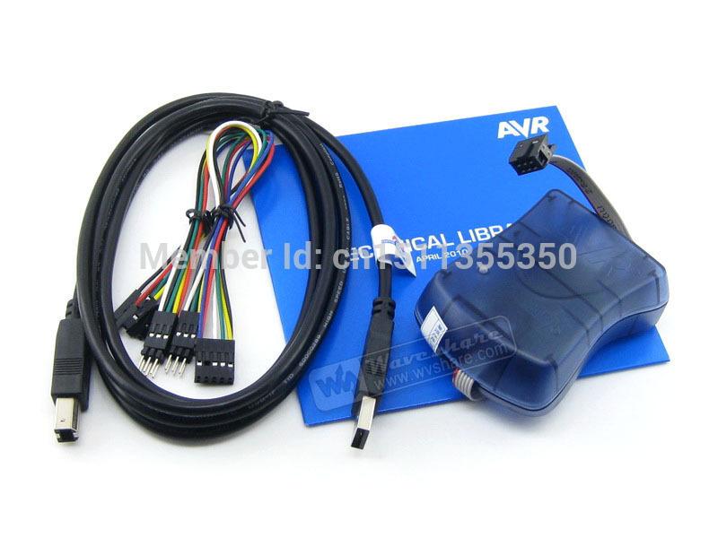 1pcs/lot Atmel AT AVRISP mkII AVR ISP mk2 Original In-System Programmer for tiny AVR, mega AVR, and XMEGA Devices Free shipping(China (Mainland))