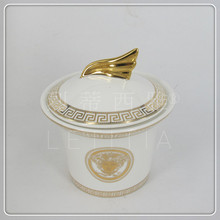 Gold royal nobility 15 bone china coffee fashion english coffee cup gift box